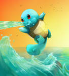 Squirtle summer vibes