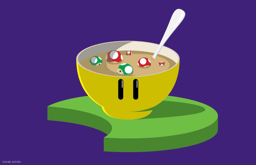 Mushroom Soup by AstroSnowball