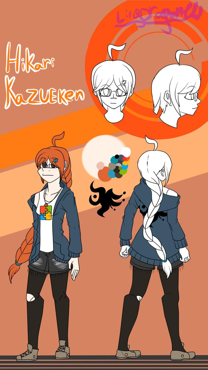 Hikari Kazueken The Protaginist of my Danganronpa by LilyDragon14