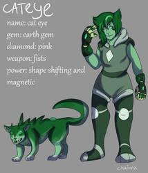 Green Cat Eye new version