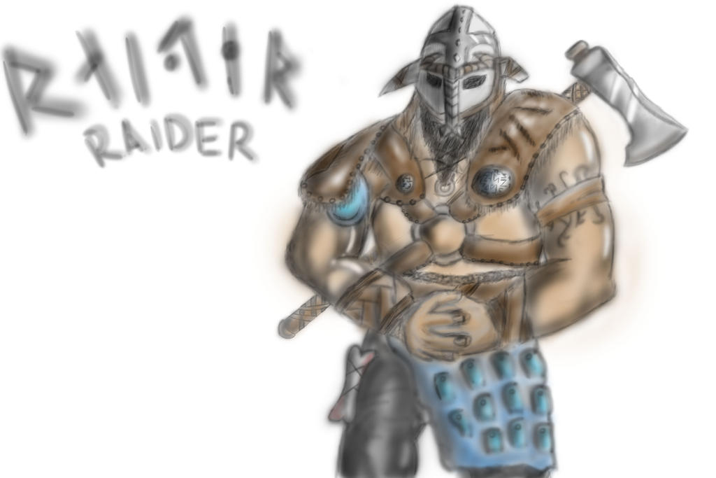 for honor how to build raider