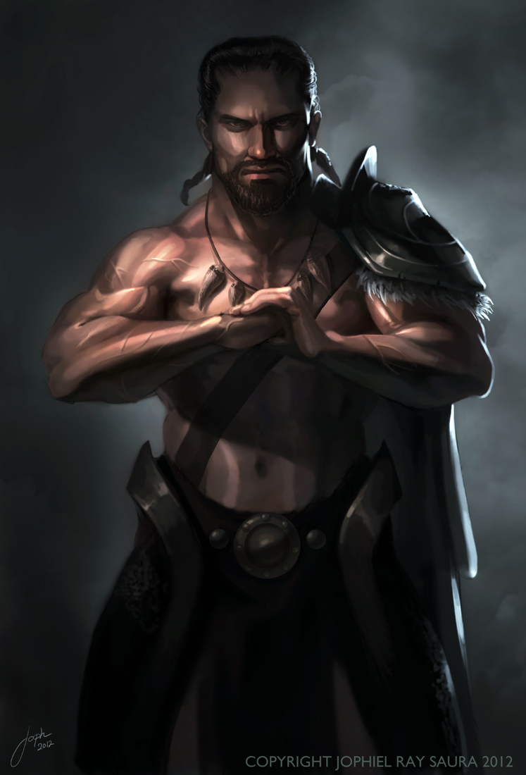 The Barbarian by JophielS