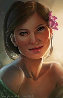Portrait face study