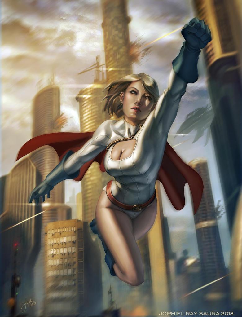 POWER GIRL by JophielS