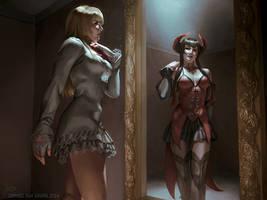 Lili and Eliza: Tekken Revolution