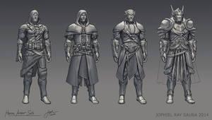 Heroic Armor Sets by JophielS
