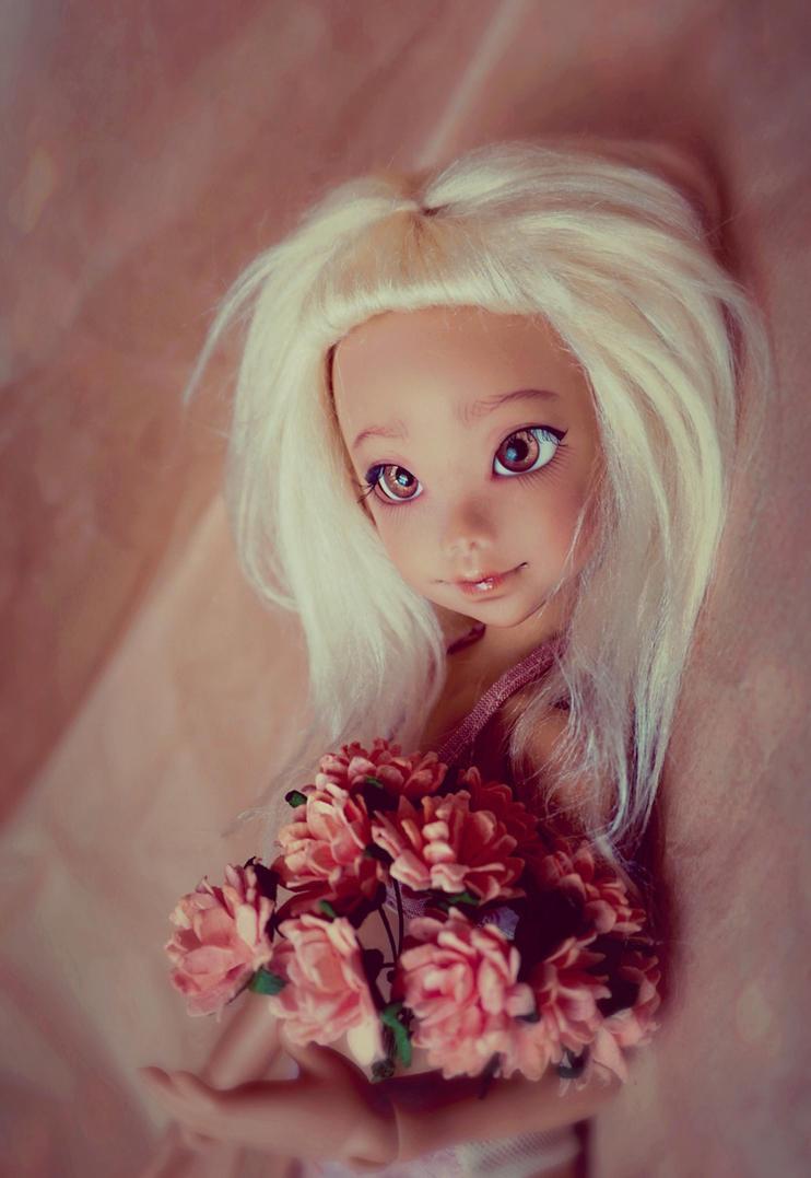 Reira in Bloom - Atelier Momoni Doll Nena02 Reira by lolaart