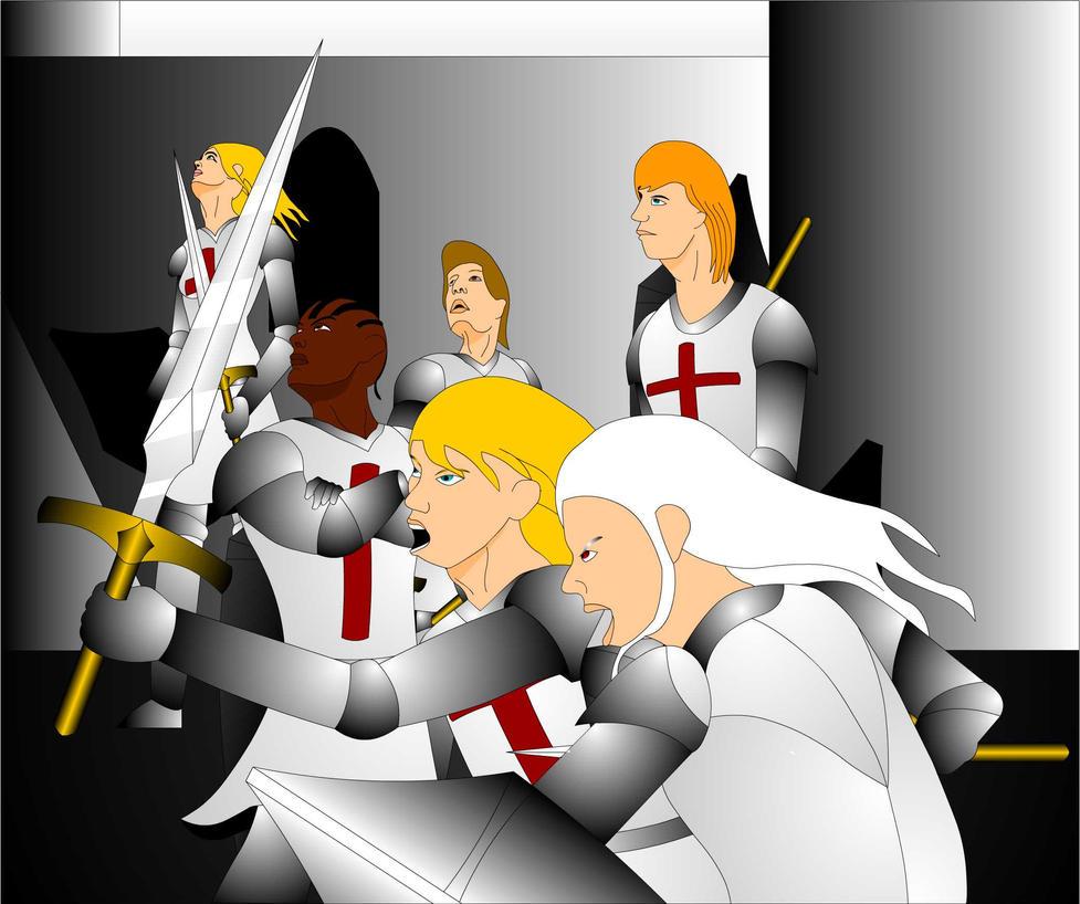 The Six Crusaders by Mecha-Mike