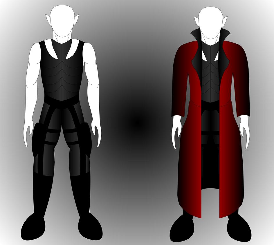Blade Hunter's Gear (Armor & Coat) by Mecha-Mike
