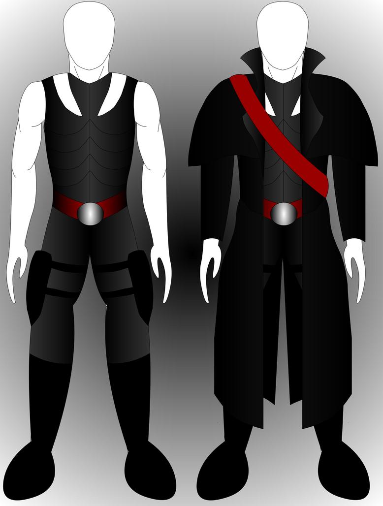 Emerald Greene's Armor & Coat by Mecha-Mike