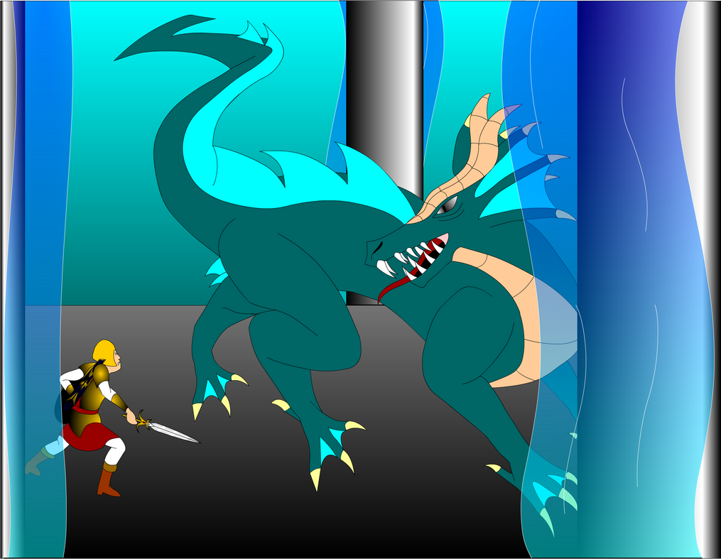 Fight the Sea Dragon by Mecha-Mike