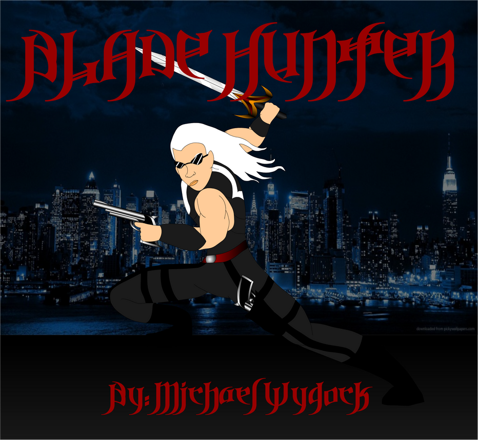 Blade Hunter cover art 1 by Mecha-Mike