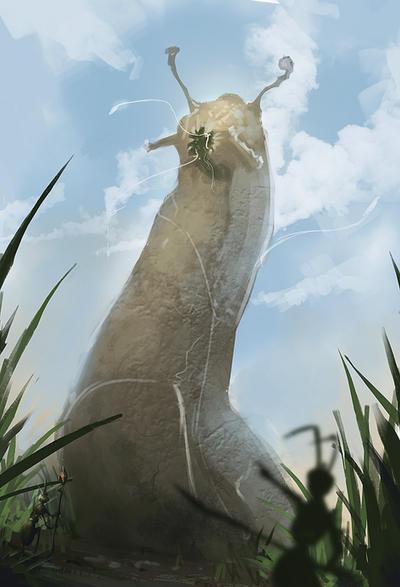 SP-Giant Slug by JustMick