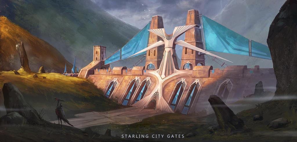 RPG Challenge-City Gates