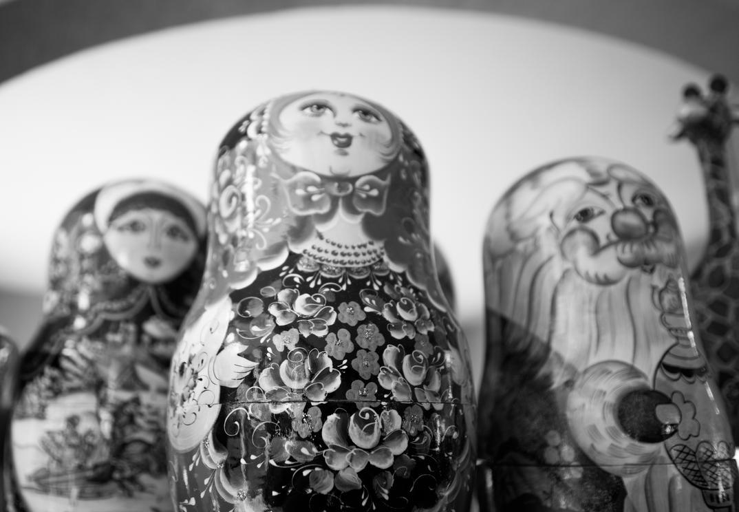 Russian Dolls by scobletech