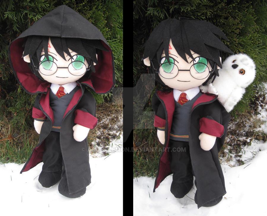 Harry Potter plush by aSourLemon