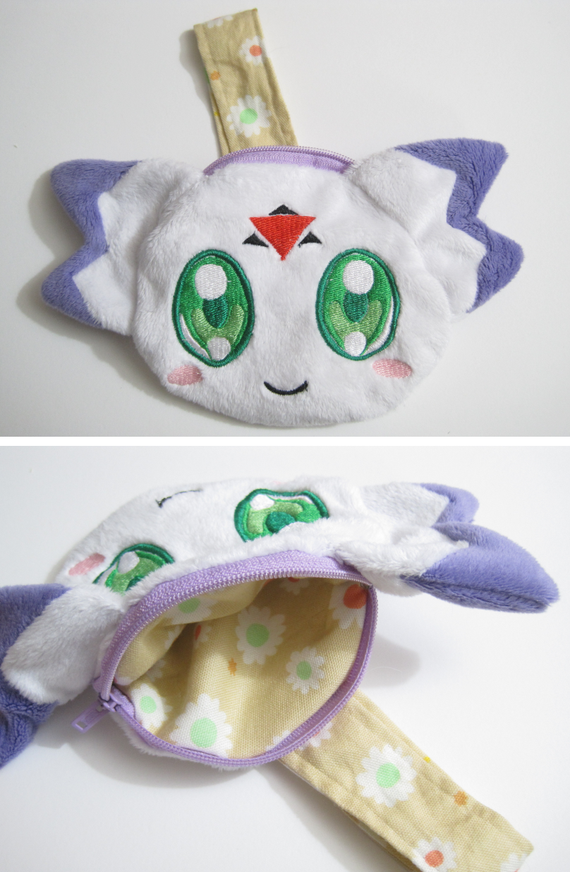 Calumon plush coin purse by aSourLemon