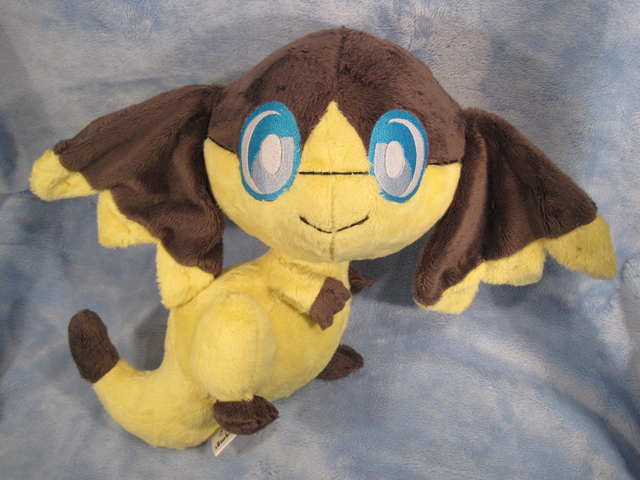 Helioptile plush by aSourLemon