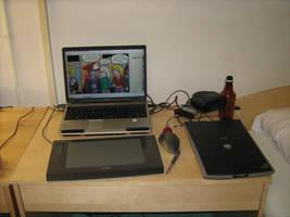 Remote Comic lab