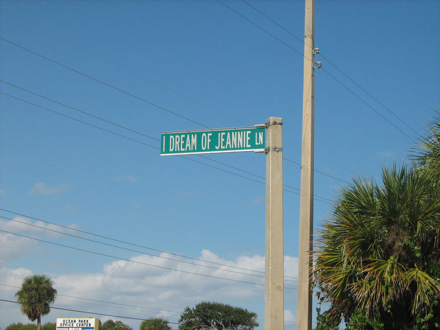 I Dream of Jeannie Sign by CDRudd