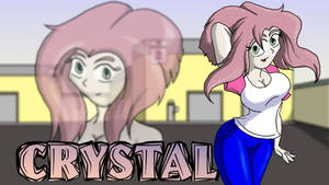 Crystal Character Background