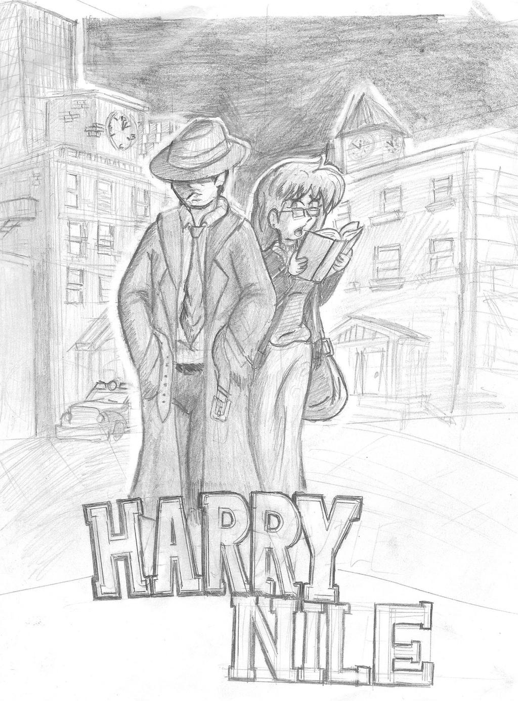 Harry Nile Sketch by CDRudd