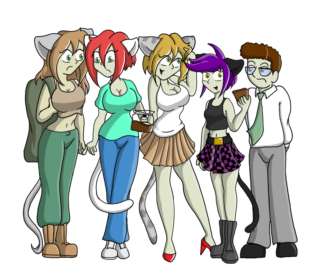 Characters Group The 'ko Sisters