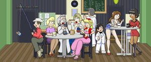 Classic Stars in Epic Cafe by CDRudd