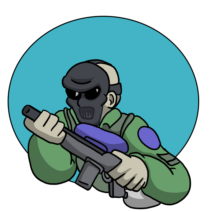Paintball Logo by CDRudd
