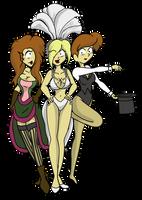 Show Girl Bay x3 by CDRudd