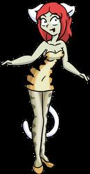 Tiger Dress Neko by CDRudd