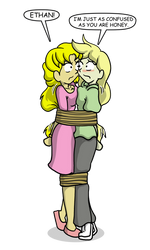 Ethan and Honey Tied Up by CDRudd