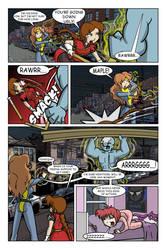 Wotch Heroes, Comic Page