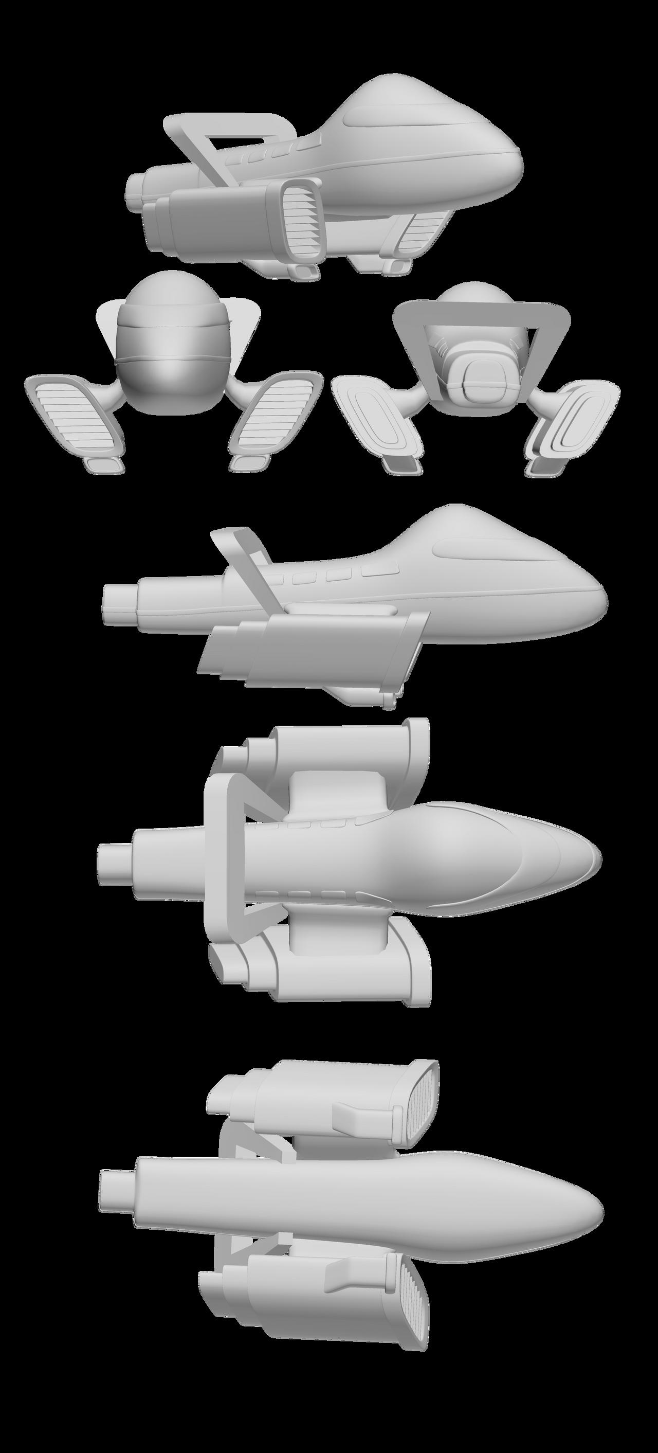 Pixie Ranger Ship Design