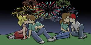 July 4th smooch fest