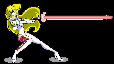 Pixie Ranger Honey Shooting