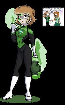 The Wotch Irene/James Green Lantern