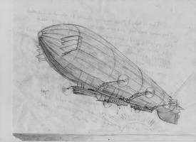 a zeppelin by PaxAeternum