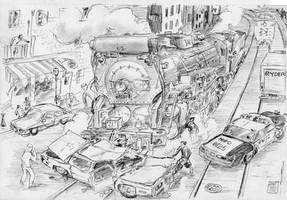 McGinnis Madness No. 12 - Traffic Incident by PaxAeternum