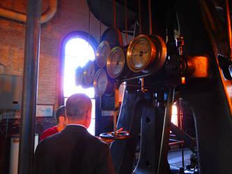 Mayor Galvin starts the machine by PaxAeternum