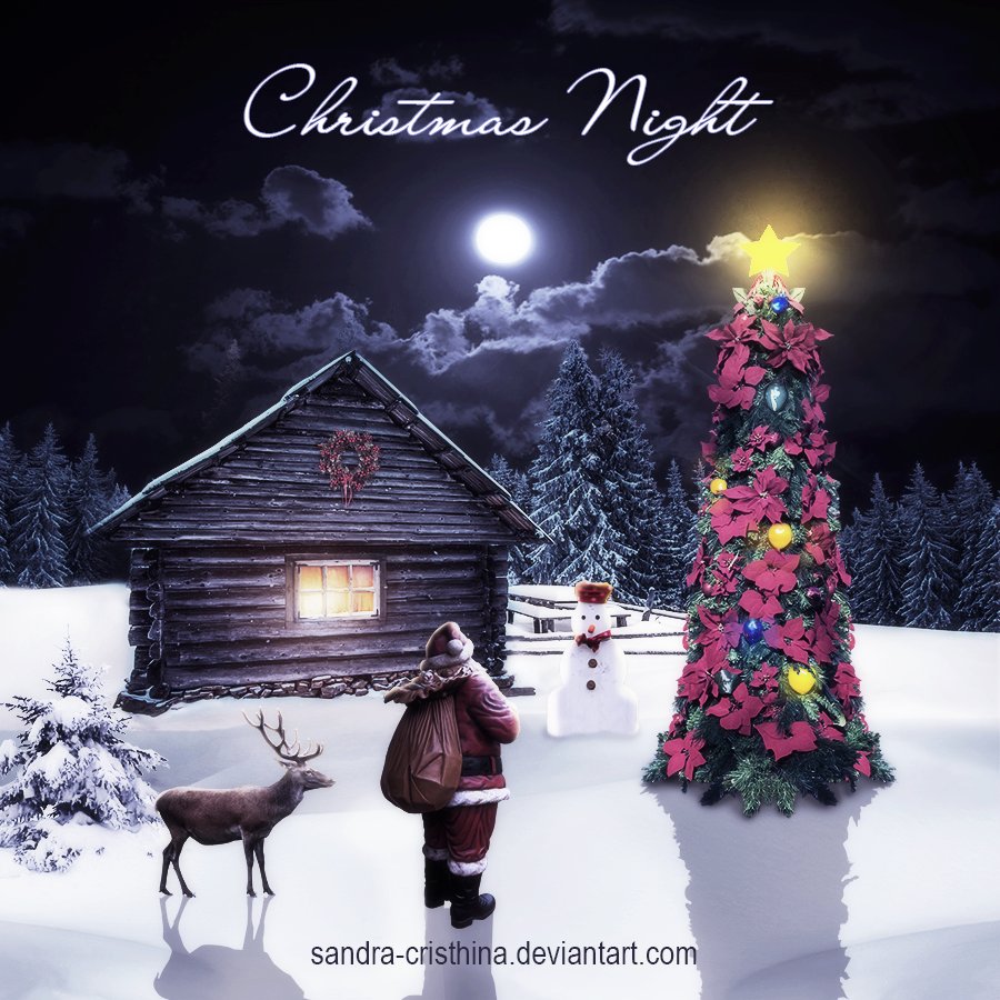 Christmas Night by Sandra-Cristhina