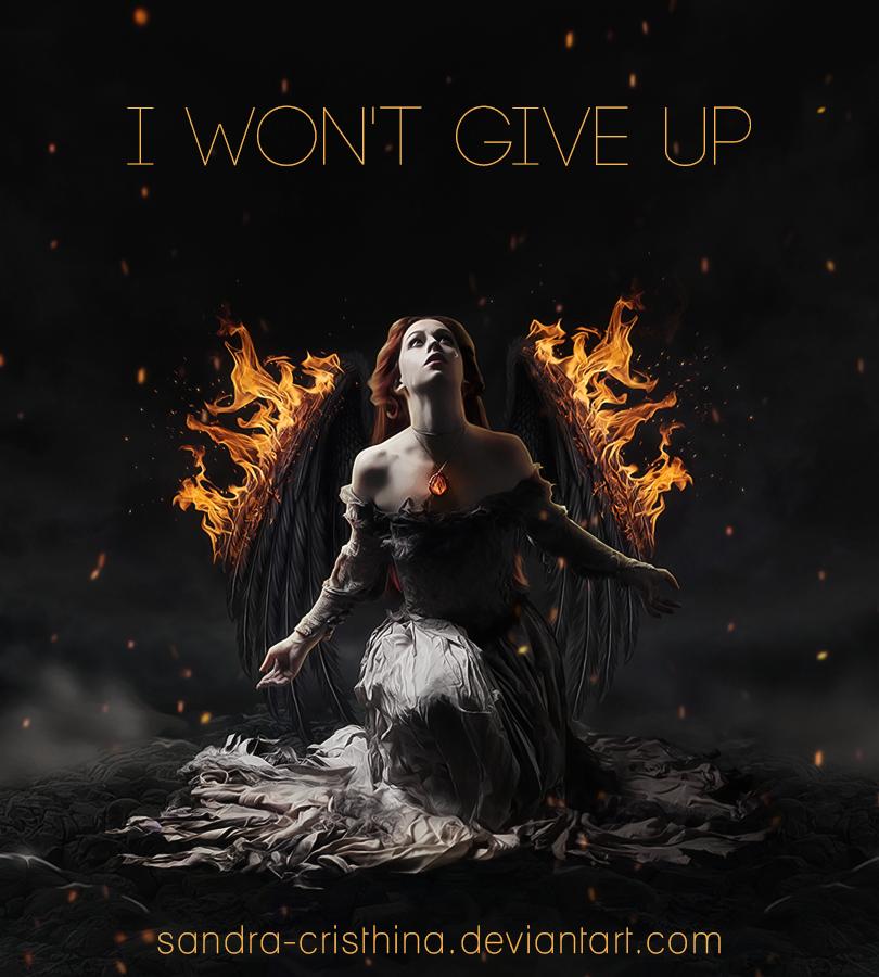 I Won't Give Up by Sandra-Cristhina