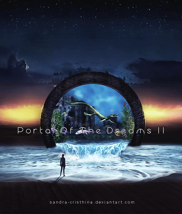 Portal Of The Dreams II by Sandra-Cristhina