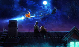 Halloween Night Collab by Sandra-Cristhina