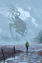 Walking The Dog by NickGreenwood