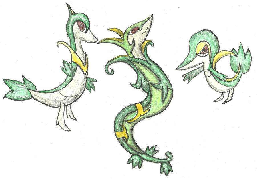 Pokemon Snake Like Color Page