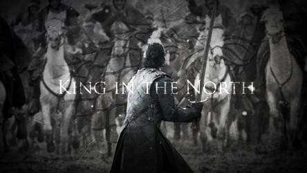 King in the North   Jon Snow   Game of Thrones