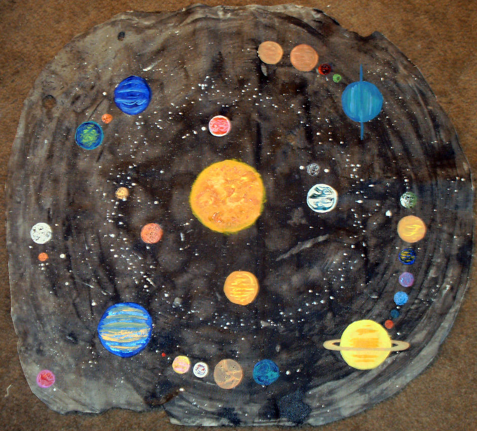 solar system paintings - photo #48