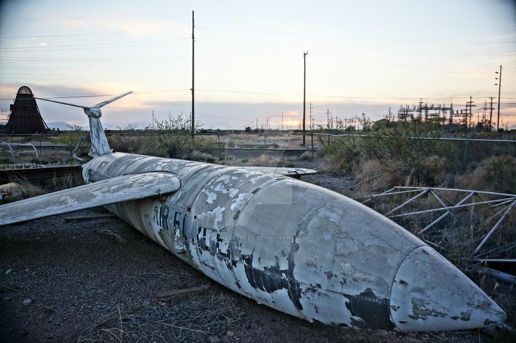 Derelict Ship by KyleOStreet