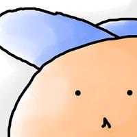 Blue Hat...